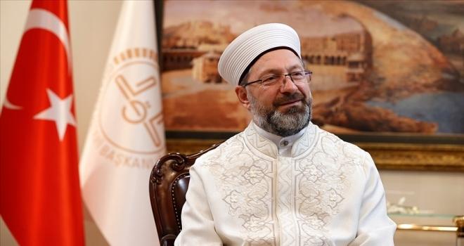 Diyanet İşleri Başkanı Erbaş, merhum hocası İslam alimi Muhammed Emin Saraç'ı anlattı