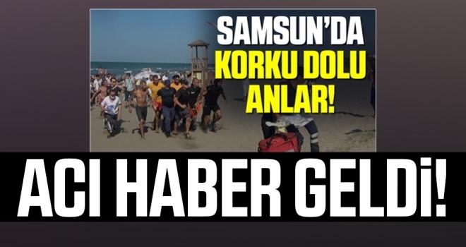 Samsun'da 18 yaşındaki genç denizde boğuldu