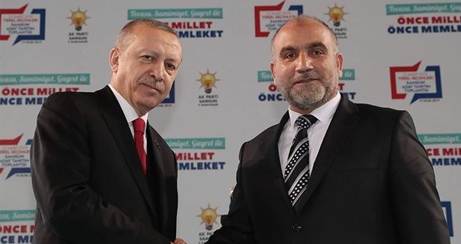 Canik Belediye Başkanı İbrahim Sandıkçı kampa katılıyor