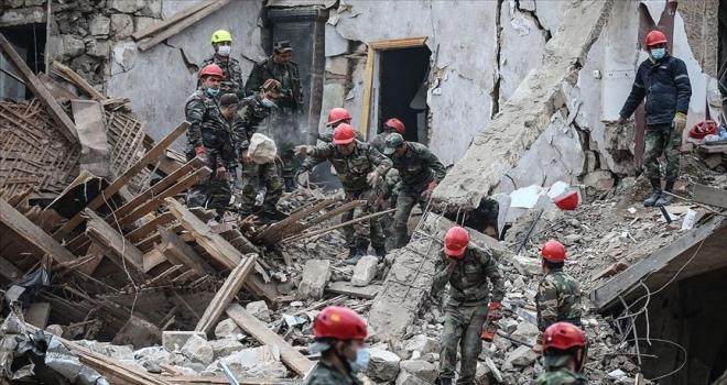 Ermenistan'ın füze saldırısında biri çocuk 4 Azerbaycanlı sivil daha yaşamını yitirdi