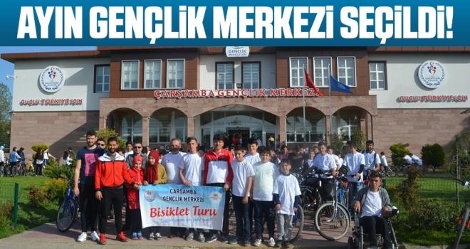 Türkiye'de ayın gençlik merkezi 'Çarşamba Gençlik Merkezi'