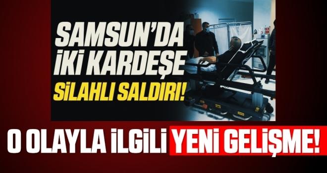 Samsun'da silahla 2 kişinin yaralanmasına 3 gözaltı