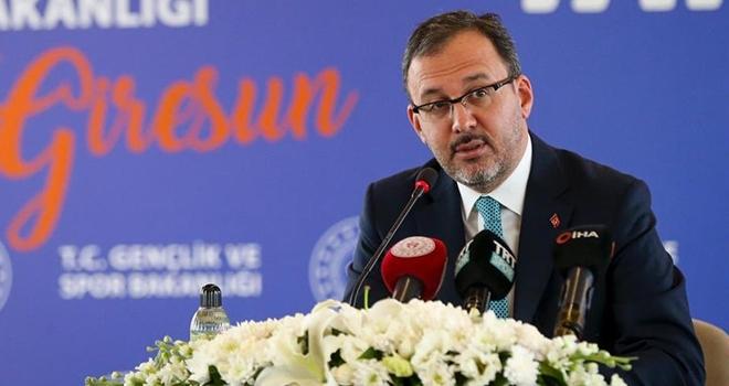 Bakan Kasapoğlu Protokol İmzaladı