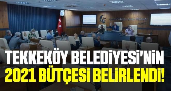 Tekkeköy Belediyesi'nin 2021 Bütçesi Belirlendi!