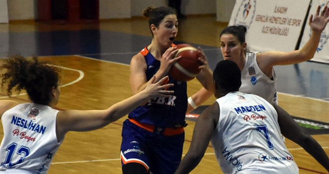 Samsun Canik Basket Galibiyete Hasret