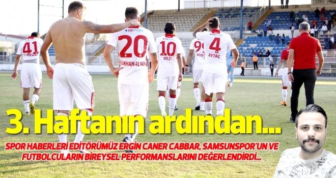 TFF 2. Lig Beyaz Grup'ta 3. haftanın ardından Samsunspor