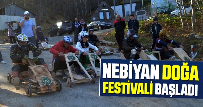 Samsun'da Nebiyan festivali renkligörüntülerle başladı