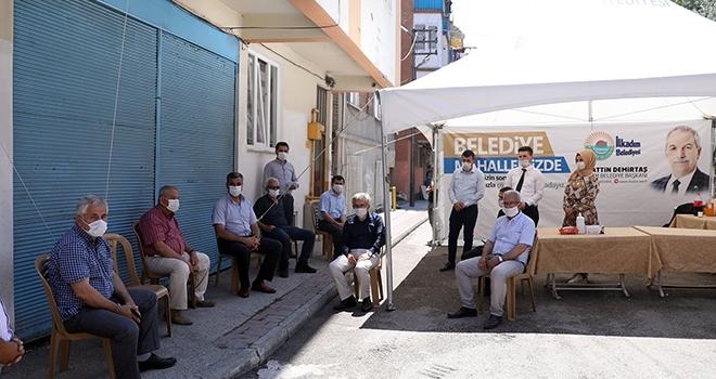 'Belediye mahallemizde çadırı' yeniden hizmette
