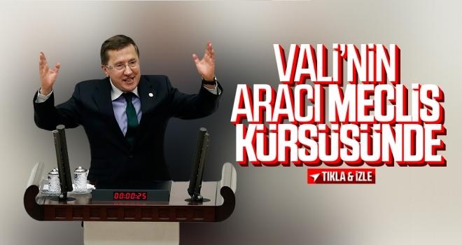 Samsun Valisi Osman Kaymak'ın Makam Aracı Meclis Gündeminde