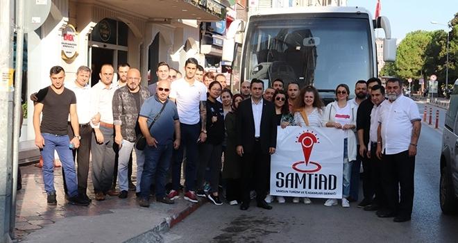 Turizm çalışanlarına 'Samsun' brifingi