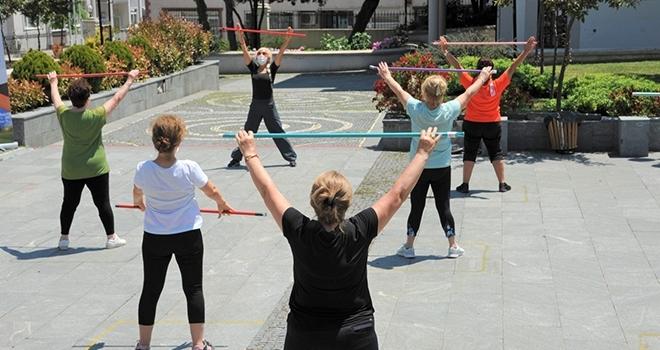 Büyükşehir Belediyesi'nden kadınlara özel spor etkinliği