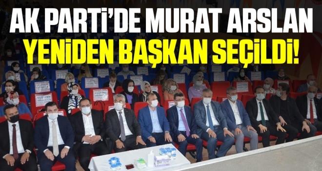 Murat Arslan yeniden AK Parti Bafra Gençlik Kolları başkanı oldu
