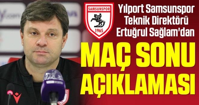 Samsunspor Teknik Direktörü Ertuğrul Sağlam'dan Altay Maçı Sonrası Açıklama