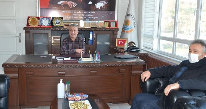 Topaloğlu'ndan Başkan Acar'a ziyaret