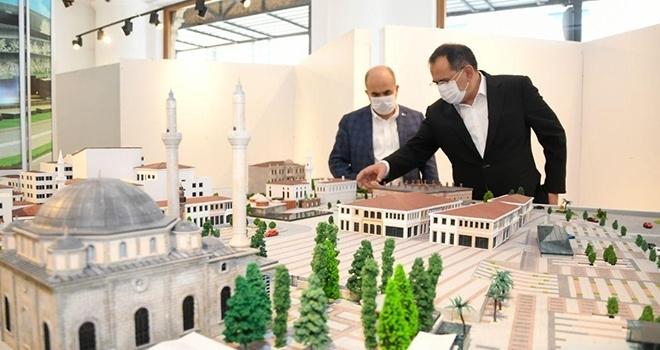 Başkan Demir: Saathane Meydanı Projesi ile şehrimizin tarihi dokusunu gün yüzüne çıkaracağız