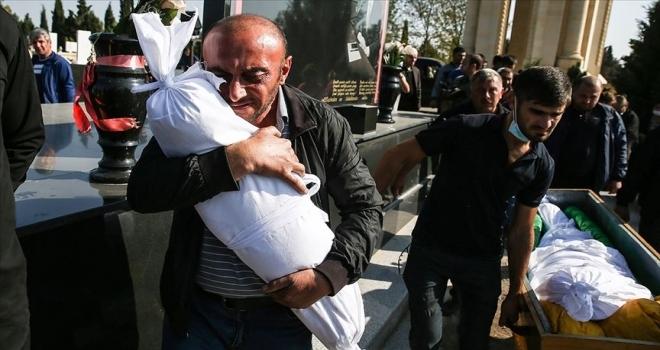Azerbaycan'da Ermenistan'ın saldırılarında 61 sivil yaşamını yitirdi, 282 sivil yaralandı