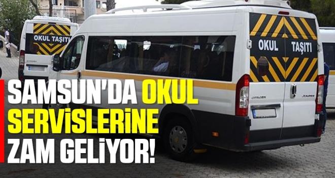 Samsun'da Okul ServislerineZam Geliyor