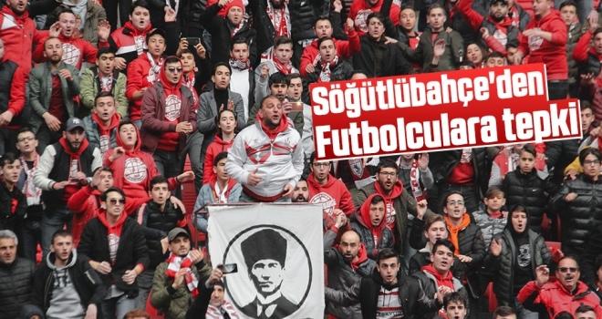 Söğütlübahçe Taraftar Grubu'ndan Samsunsporlu futbolculara tepki...