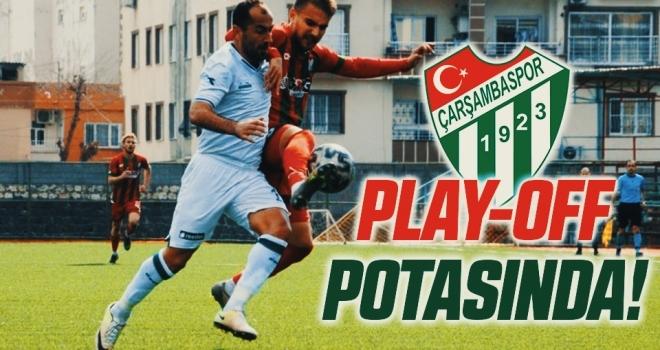 Çarşambaspor Play-Off Potasında!