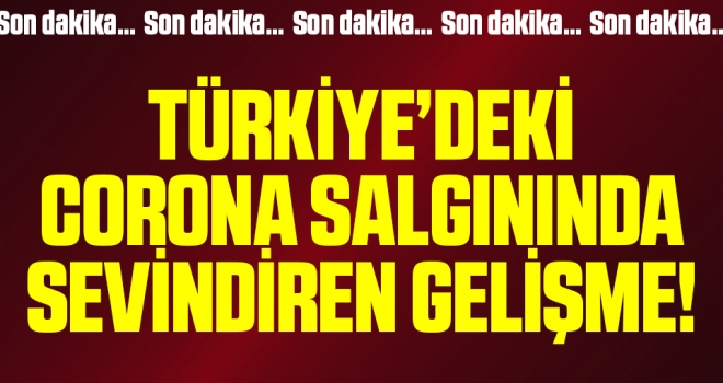 Son dakika… Türkiye'de günlük yeni vaka sayısı binin altına indi