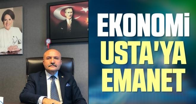 İYİ Parti'de Ekonomi Politikaları Başkanı Erhan Usta Oldu