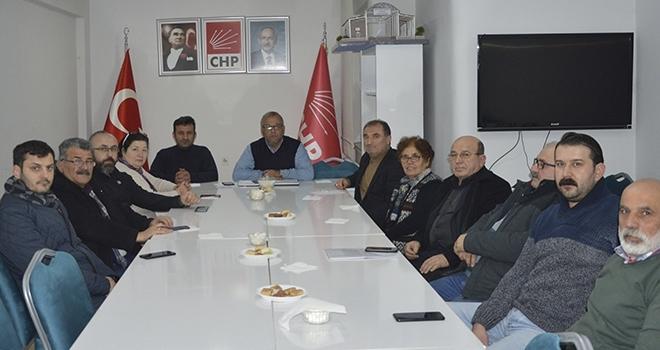 CHP Havza'daGörev Dağılımı Yapıldı