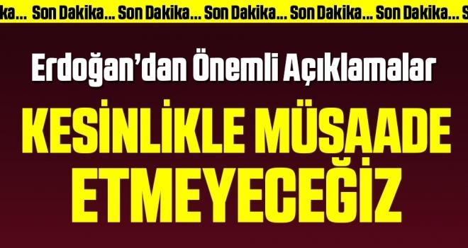 Son dakika… Cumhurbaşkanı Erdoğan'dan asker uğurlama uyarısı