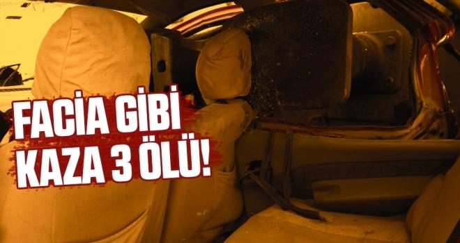 Facia Gibi Tren Kazası: 3 ölü