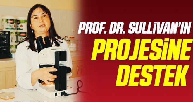 Prof. Dr. Sullivan'ın projesine destek