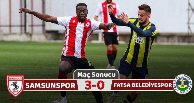 Yılport Samsunspor: 3 Fatsa Belediyespor: 0 (Maç Sonucu)