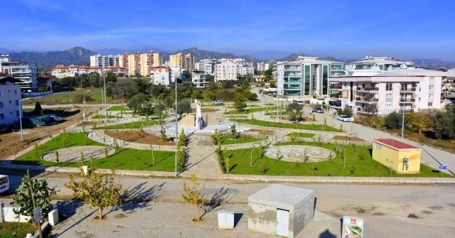Nazillide 15 Temmuz Şehitler Parkı Açıldı