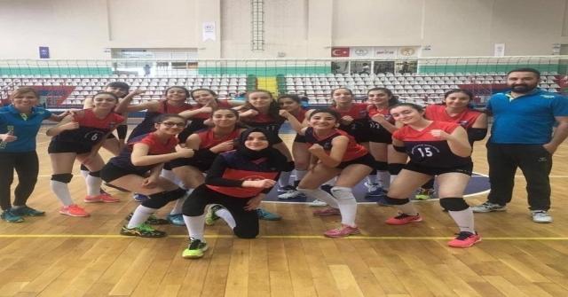 Kayseri Osb Atletikspor, Set Vermeden Türkiye Yarı Finallerine Yükseldi