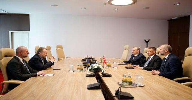 Cumhurbaşkanı Yardımcısı Oktay:  Türkiye, Bosna Hersekin Ab Ve Nato Üyeliğini Destekliyor