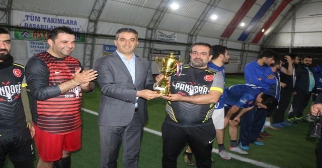 Silopideki Futbol Turnuvası Sona Erdi