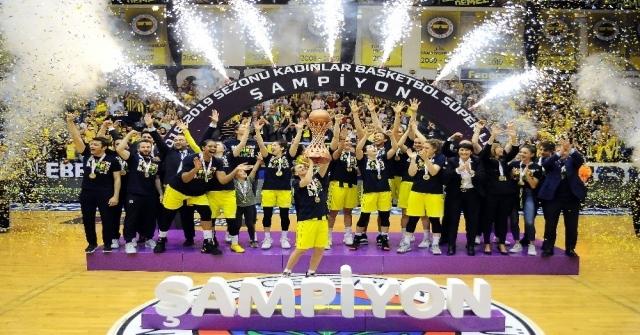 Fenerbahçe Kadınlar Basketbol Süper Liginde Şampiyon Oldu