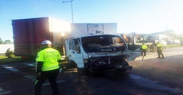 Samsunda Zincirleme Trafik Kazası: 2 Yaralı