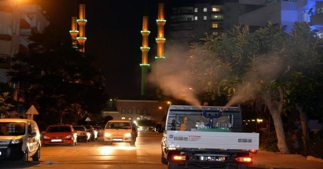 Mersin Büyükşehir Belediyesinden İlaçlama Açıklaması