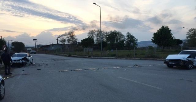 Bursada Trafik Kazası: 1 Yaralı