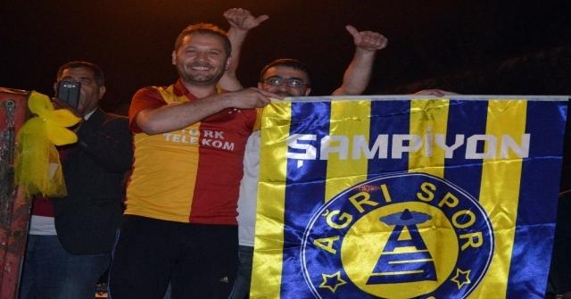 Ağrı Spor Galatasarayı Gölgede Bıraktı!