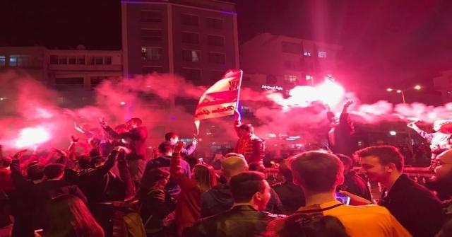 Sinopta Galatasaray Coşkusu