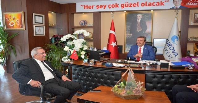 Osmaniye Heyeti Başkan Çetini Kutladı