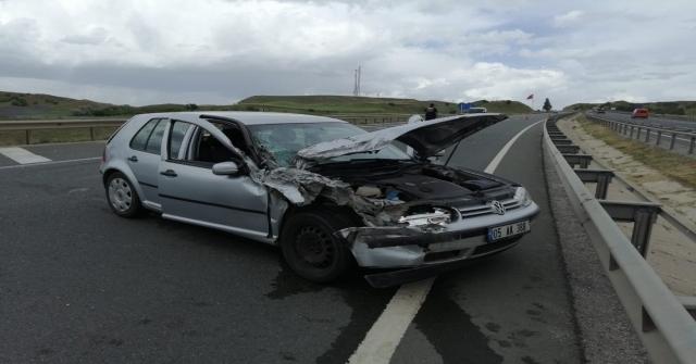 Yolcu Minibüsü İle Otomobil Çarpıştı: 5 Yaralı