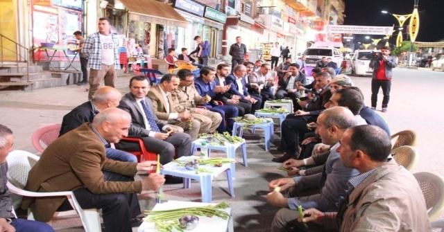 Kaymakam Türkmandan Esnaf Ve Vatandaş Ziyareti