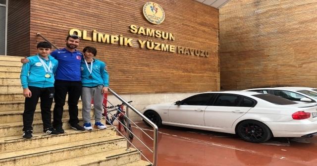 M.arda Çulha Analig Yüzmede Türkiye Şampiyonu