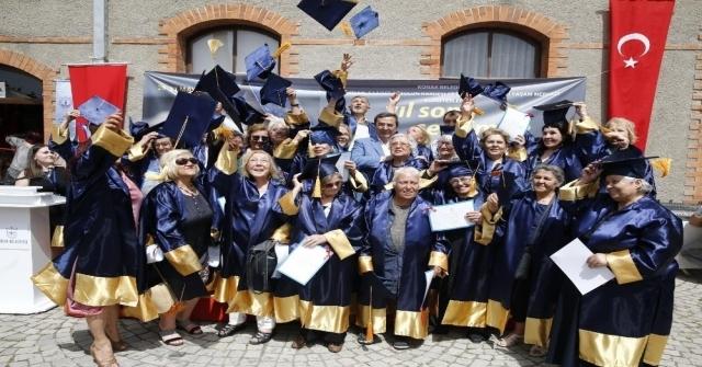 80Lik Öğrencilerin Kep Sevinci