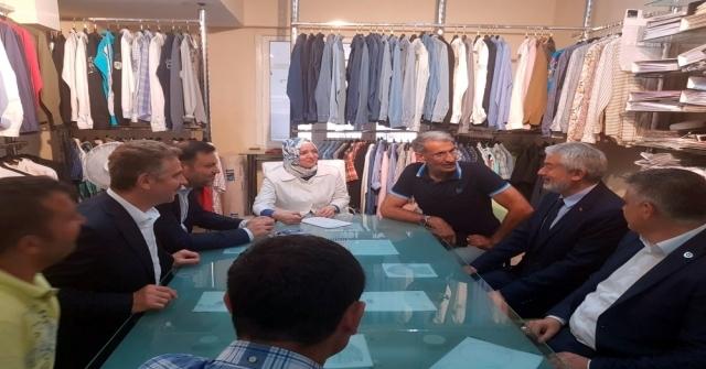 Başkan Başdeğirmen, İstanbul Gaziosmanpaşada Seçim Çalışması Yaptı