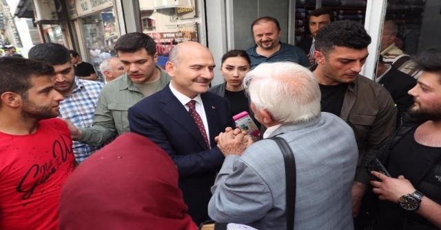 İçişleri Bakanı Soylu Serhend Kitabevini Ziyaret Etti