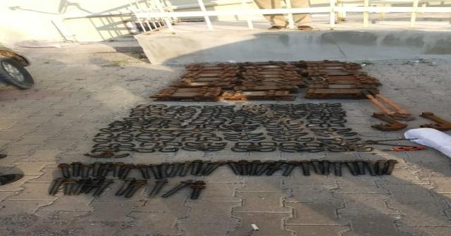 Tren Raylarının Bağlantılarını Çalan 3 Zanlı Tutuklandı