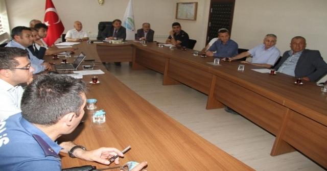 Beyşehirde 2019 Yks Koordinasyon Kurulu Toplantısı