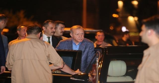 Cumhurbaşkanı Erdoğan Ak Parti İl Başkanlığından Ayrıldı